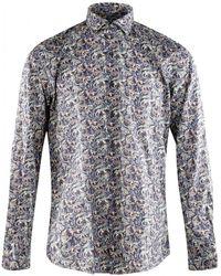 Xacus - Long Sleeve Shirt - Lyst