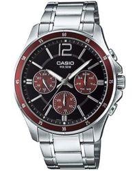 G-Shock Watch Mtp-1374d-5a - Grijs