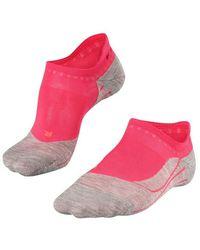 FALKE Ru4 Invisible Socks - Roze