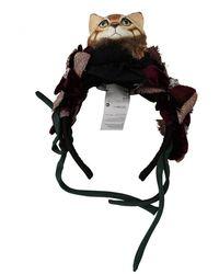 Dolce & Gabbana Bandeau diadème en soie avec nœud - Noir