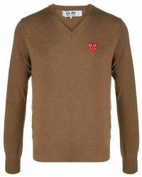 COMME DES GARÇONS PLAY Sweater - Marron