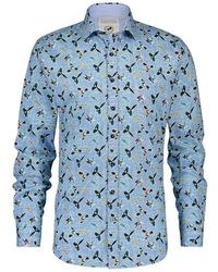 A fish named fred Shirt 20.02.033 - Blauw