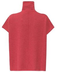 Fay Turtleneck Sweater - Rosso