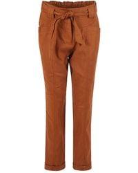 summum woman Trousers 4s2117-11352 737 - Bruin
