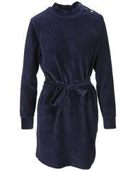 A.P.C. Dress F05912coesj - Blauw