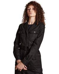 Saint Laurent Safari Jacket - Zwart