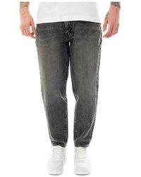 Levi's Jeans Losse Taper Adjustable - Zwart
