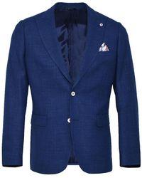 Cavallaro Jacket - Bleu