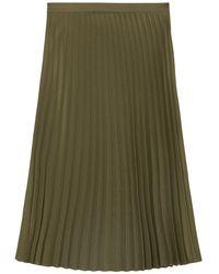 Marc O'polo Pleated Skirt - Groen