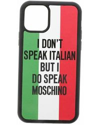 Moschino Cover Iphone 11 Pro Max - Rood