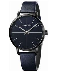 Calvin Klein Watch Ur - Blauw