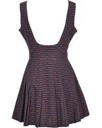 Gcds Dress Negro