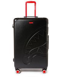 Sprayground Sharkitecture Big Luggage Bag - Zwart