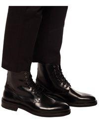 AllSaints Britt leather shoes Negro