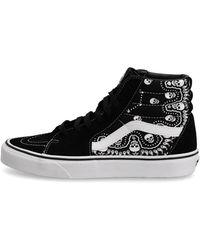 Vans Sk8 - Hi - Sneakers - Zwart