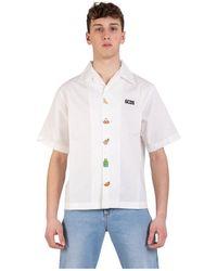 Gcds Camicia - Blanc