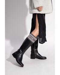 Michael Kors Aldridge knee-high boots Negro
