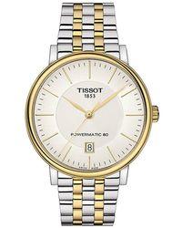 Tissot Carson Watch - Gelb