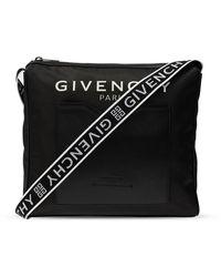 Givenchy 4g Messenger Schoudertas - Zwart
