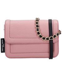 Marc Jacobs De Mini Cushion Tas - Roze