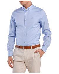 GANT Shirt - Blauw