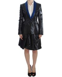 Exte Two Piece Suit Skirt & Blazer - Zwart