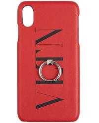 Valentino Garavani Iphone Case - Rood