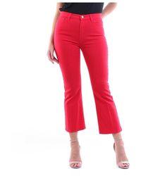 Manila Grace - S0zj400cu Wide Fund Trousers - Lyst