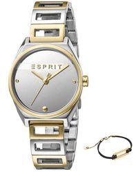 Esprit Watch Ur - Es1l058m0045 - Grijs