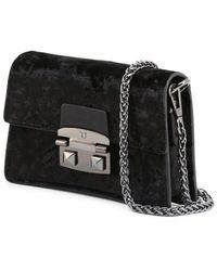 Trussardi Bag Coriandolo_75B00555-99 Negro