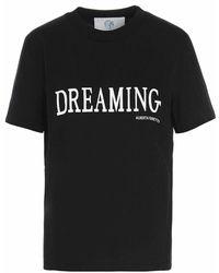 Alberta Ferretti Dreaming t-shirt - Negro