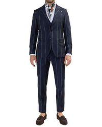 Gabriele Pasini Suit - Blauw