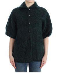 Roberto Cavalli Mohair Knitted Cardigan - Groen