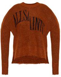 AllSaints Split sweater - Marrón