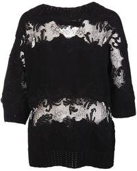 Ermanno Scervino Sweater - Noir