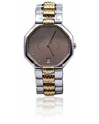 Dior Orologio da polso ottagono Mod 46 204 bicolore - Grigio
