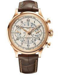 Baume & Mercier Capeland Flyback watch - Weiß