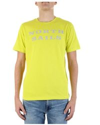 North Sails Short Sleeve T-shirt - Geel