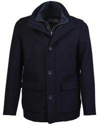 Herno Winter Coat - Blauw