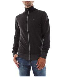 Calvin Klein K10k105556 Beh Knitwear Mannen - Zwart