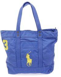 Polo Ralph Lauren Big Pp Tote - Blauw