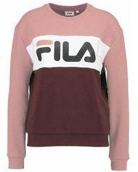 Fila Leah Crew Sweatshirt - Roze