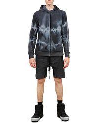 Thom Krom Hooded Jacket Gris