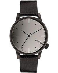 Komono Watch - Schwarz