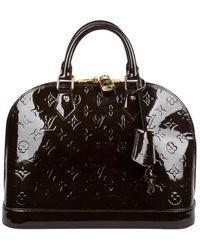 Louis Vuitton Alma Vernis PM - Noir