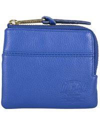 Herschel Supply Co. Jhonny Leather Wallet - Blauw