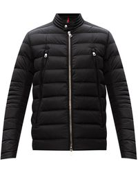 Moncler Amiot Quilted Down Jacket - Zwart