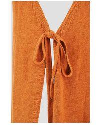 Cult Gaia Remi Knith Dress - Orange