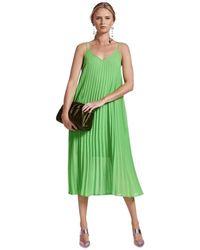 Essentiel Antwerp Zague Slip Dress - Groen