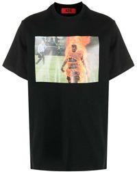 424 T-shirt - Zwart